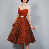 50s Party Dress - 1950s Dress - All About Eve