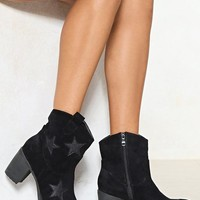 Walking On the Moon Star Boot
