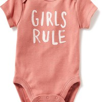 Short-Sleeve Graphic Bodysuit for Baby | Old Navy
