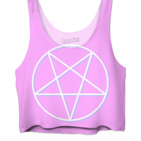Pentagram Crop Top