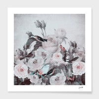 «My Vintage Garden» Art Print by Suzanne Carter - Numbered Edition from $24.9   Curioos