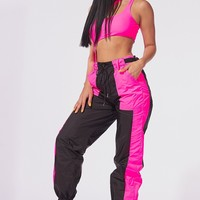 Bee's Knees Color Block Jogger Pants