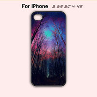 Galaxy Forest,iPhone 5 case,iPhone 5C Case,iPhone 5S Case, Phone case,iPhone 4 Case, iPhone 4S Case