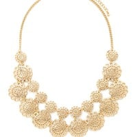 Cutout Medallion Necklace | Forever 21 - 1000160538