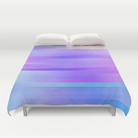 Out of the blue Duvet Cover by SagaciousDesign