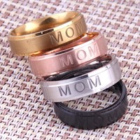 Mom Self-expression Home Ring Hot On Sale  [11400042644]