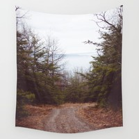 Lovers Leap Wall Tapestry by Emilytphoto
