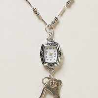 Watch Works Pendant Necklace