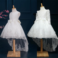 """The """"Eve"""" Lace Flower Girl Dress"""