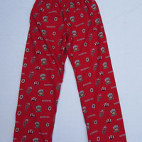 Ohio State pajama bottoms for kids, women, and men