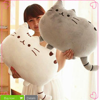 40*30cm Plush Toys Stuffed Animal Doll Talking Animal toy Pusheen Cat For Girl Kid Kawaii Cute Cushion Brinquedos Free Shipping-in Stuffed & Plush Animals from Toys & Hobbies on Aliexpress.com | Alibaba Group