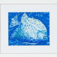 """Paragon Fish by Hyman Waterfront Art (Set of 2) - 18"""" x 21"""" - 3009 - All Wall Art - Wall Art & Coverings - Decor"""