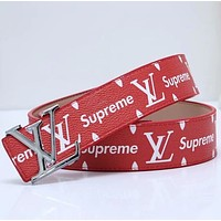 Louis Vuitton LV Girls Boys Belt-6