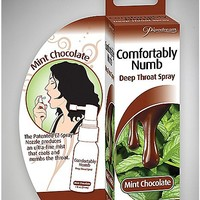 Comfortably Numb Spearmint Flavored Deep Throat Spray - 1 oz. - Spencer's