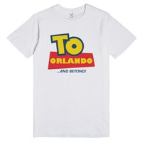 To Orlando and Beyond (Light)-Unisex White T-Shirt