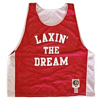 Laxin' The Dream Lacrosse Pinnie
