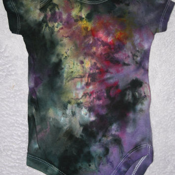 Ice Dyed Baby Onesuit