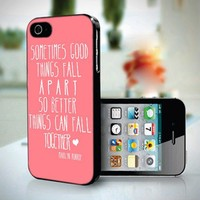 10233 Marilyn Monroe Quote - iPhone 4/4s Case