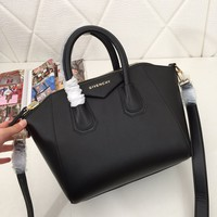 Givenchy Women Leather Shoulder Bag Satchel Tote Bag Handbag Shopping Leather Tote Crossbody Satchel Shoulder Bag