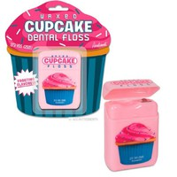 Waxed Cupcake Frosting Flavor Dental Floss