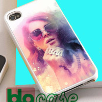 Lana Del Rey Paint For Iphone 4/4s, iPhone 5/5s, iPhone 5C, iphone 6, and iPhone 6 Plus Case