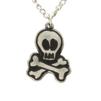 All Time Low Skull Necklace