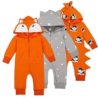 Baby Rompers Spring Baby Boy Clothing Set 2017 Baby Girl Clothes Fashion Newborn Baby Clothes Infant Jumpsuits Kids Clothing