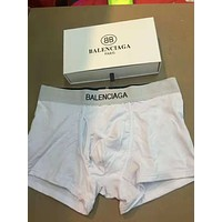 Balenciaga Tide brand men's cotton comfortable breathable boxer briefs three-piece