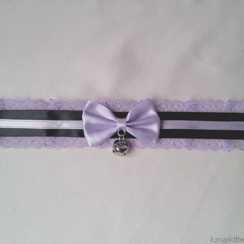 Lavender Dream Collar from Lunar Kitten Creations