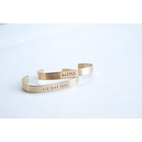 The Betty Collection: Get Shit Done Cuff Bracelet