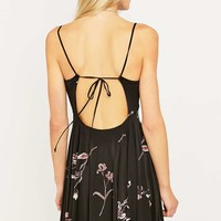 Silence + Noise Lonnie Black Dress - Urban Outfitters