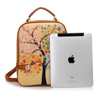 Tree of Four Seasons Backpack CNZ001F