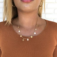 Golden Life Style Necklace
