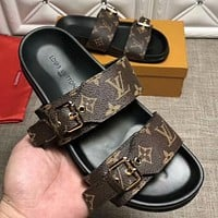 Boys & Men Louis Vuitton Fashion Casual Sandals Shoes
