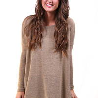 Hazelnut Piko Knit