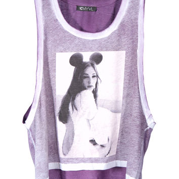 Mickey Inspired Cropped Top- LAST ONe