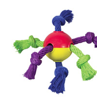 PetStages Hearty Dog Chew Rope & Ball Toy