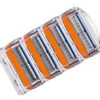Gilett 4pcs/lot blade razor blade is used for the man Gilett fused electric razor blade