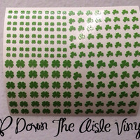 St. Patricks Day Nail Decals - Set of 200