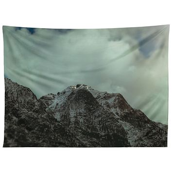 Leah Flores Winter in the Cascades Tapestry