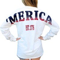 Kappa Alpha Theta X 'Merica Long Sleeve