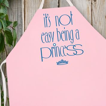 2039 Not Easy Being a Princess (Attitude Aprons)