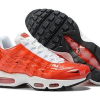 DCCK Nike Air Max 95 Fashion Running Sneakers Sport Shoes Red