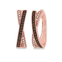 1/3ct tw Diamond Fashion Earrings in 10K Rose Gold