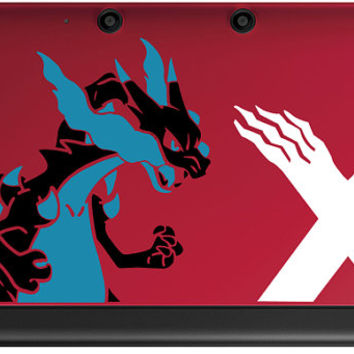 Mega Charizard X 3DS or 3DS XL Tri-color decal