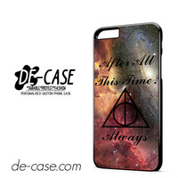 Severus Snape Harry Potter Always DEAL-9476 Apple Phonecase Cover For Iphone 6/ 6S Plus