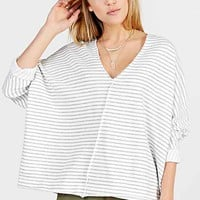 Truly Madly Deeply V-Neck Dolman-Sleeve
