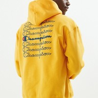 Champion Stacked Eco Hoodie Sweatshirt | Urban Outfitters