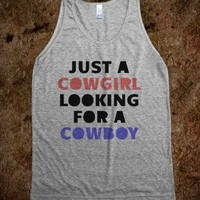 Cowgirl Looking for a Cowboy