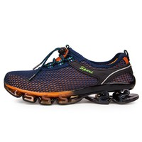 Brand 2018 Newest Running Shoes Cushioning Breathable Walking Jogging Outdoor Sport Male Sneakers Professional Athletic Shoes